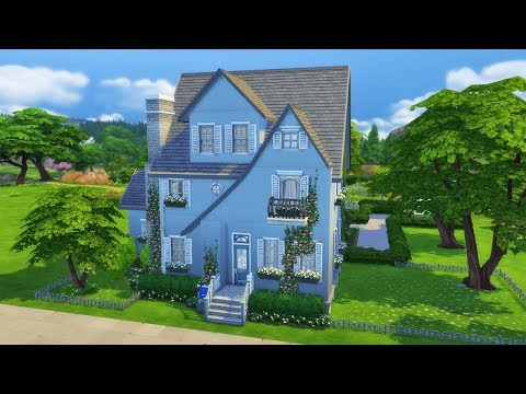 French Country Home | Speed Build | The Sims 4 (NO CC)