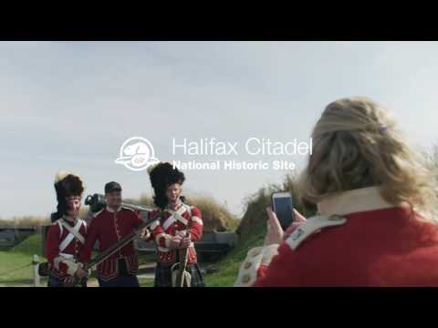 Soldier for a day at Halifax Citadel National Historic Site - Parks Canada