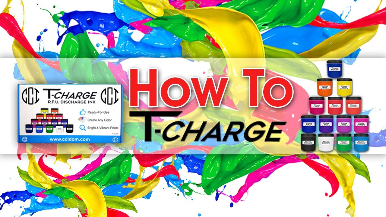How to Use CCI's T-Charge Discharge Ink System