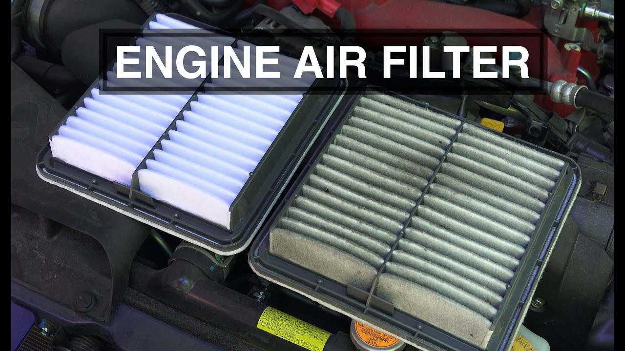 how to replace the engine air filter in a subaru impreza wrx sti forester outback  [ 1280 x 720 Pixel ]