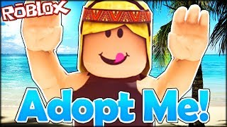 ADOPTING A LOVELY HAPPY BABY | Roblox Adopt Me!