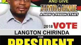Zimbabwe Independent Presidential Candidate Langton Chirinda Speaks To News Of The South
