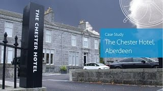 Chester Hotel, Aberdeen installs Daikin for the perfect indoor climate