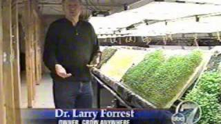 Aeroponics Farm grows organic aeroponic food