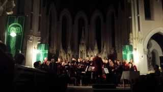 The Shepherds Farewell sung by The Dublin Airport Singers Christmas 2013