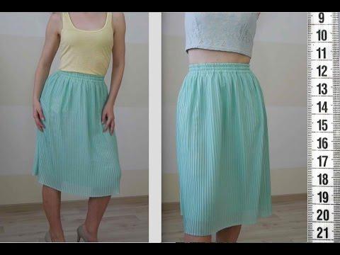 Я ШЬЮ: Юбка-плиссе / I SEW: Plisse skirt
