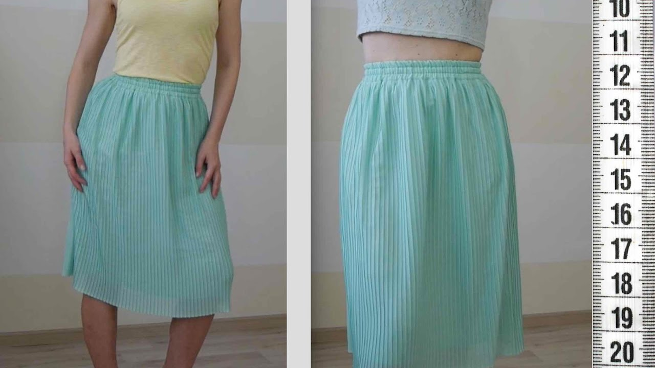 Как сшить из ткани юбку для фото 486