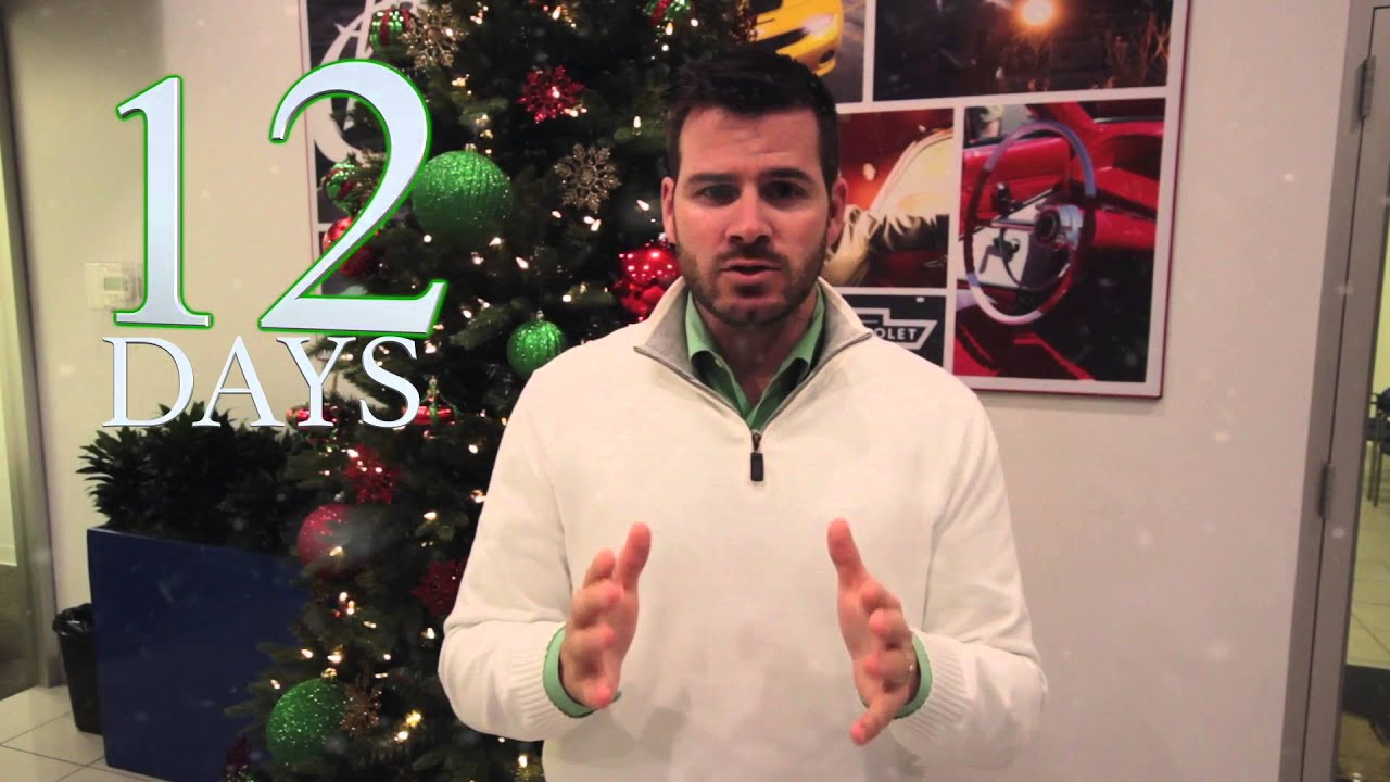 Sandy Sansing Chevrolet s Used Car Super Store 12 Days of Christmas