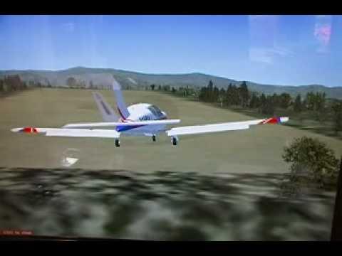 FSX: Socata TB-10 Landing @ Mountain Air (2NC0)