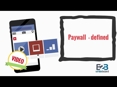Paywall  - defined