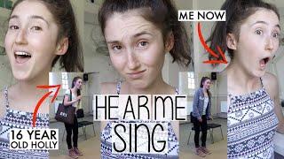 Baixar REACTING TO MY OLD SINGING VIDEOS . . . & SORT OF HEAR ME SING NOW 🙈