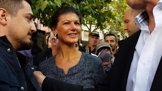 Bonn 18.9.2017 - Dr. Sahra Wagenknecht mit toller Wahlkampfrede