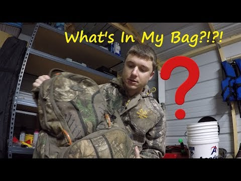 Hunting Bag Essentials - Hunting Gear Setup - What's In My Hunting Bag