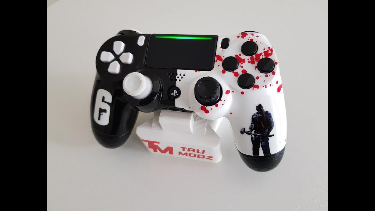 Playstation 4 / PS4 Rainbow Six Custom Controller By TRU Modz
