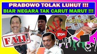 KUNTUL BARIS ! D1T0LAK PRABOWO LUHUT  NGACIR KE TIONGK0K, MAU APA BOS ! #INDONESIAADILMAKMUR !