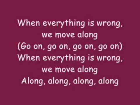All American Rejects - Move Along (with lyrics)