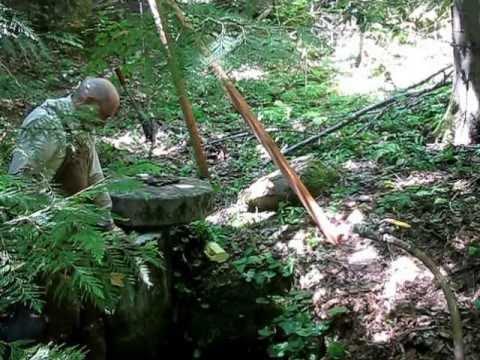 Bentonite in the Springbox at Camp Serendipity - July 16, 2013