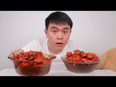 """试吃全网销量最高的""""麻辣小龙虾"""",一口气就吃了3斤也太爽了"""