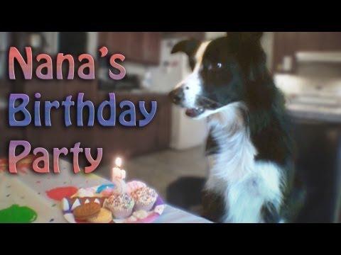 Nana's Birthday Party