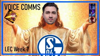 Going for the #S04MiracleRun - Schalke 04 Esports Voice Comms - LEC Week 7 Summer Split 2020