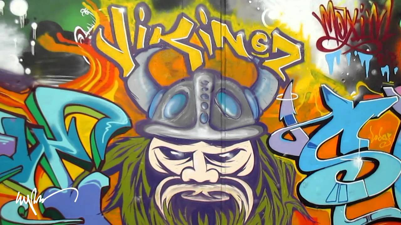 Vikings graffiti the calm before the storm hd