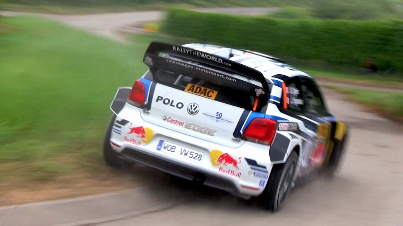 Best of Sébastien Ogier World Rally Champion 2016 | VW POLO WRC ...