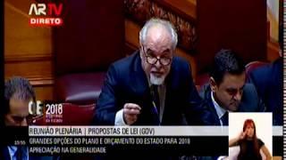Debate na Generalidade OE 2018 | Resposta Ministro do Trabalho ao Deputado Tiago Barbosa Ribeiro