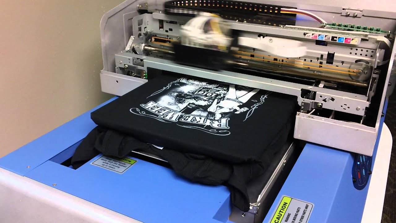 694e7a2a9 FreeJet 330TX direct to garment printer.MP4 - YouTube