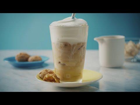 Nespresso Recipe Iced Coffee Macchiato Youtube