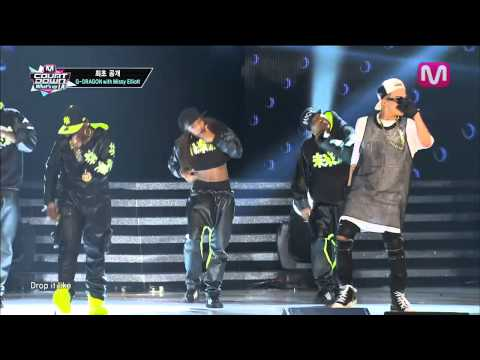 G-DRAGON with Missy Elliott_늴리리야 (Niliria by G-DRAGON with Missy Elliott on Mcountdown 2013.8.29)