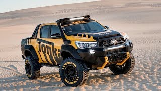 A dream toy for adults! The Hilux Tonka!