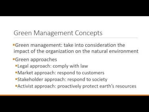 Principles Of Management: Managing Social Responsibility And Ethics 1