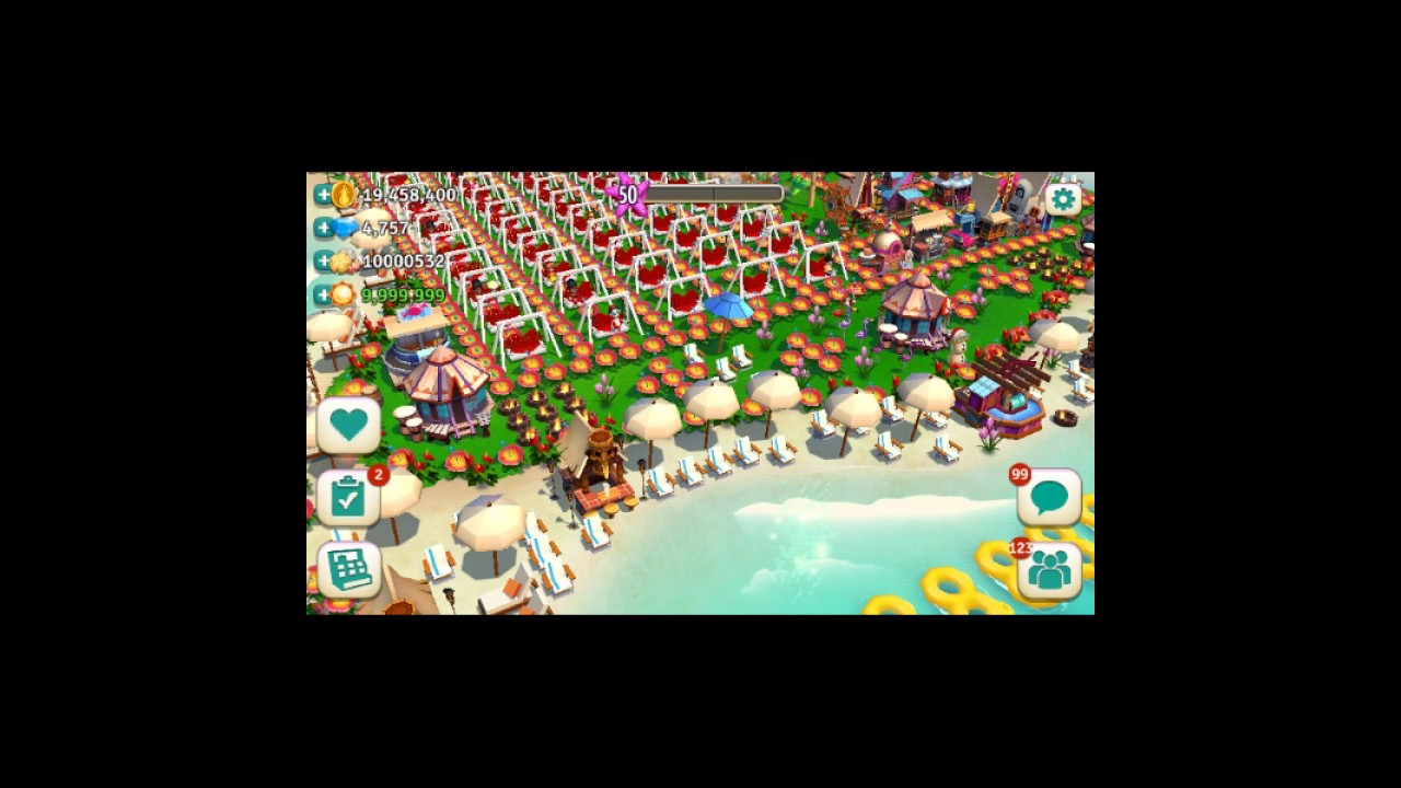 FARMVILLE TROPIC ESCAPE HACKED WITH BOTTOMLESS BOATHOUSE AND SILO HAVING  BILLIONS OF GAME STUFF