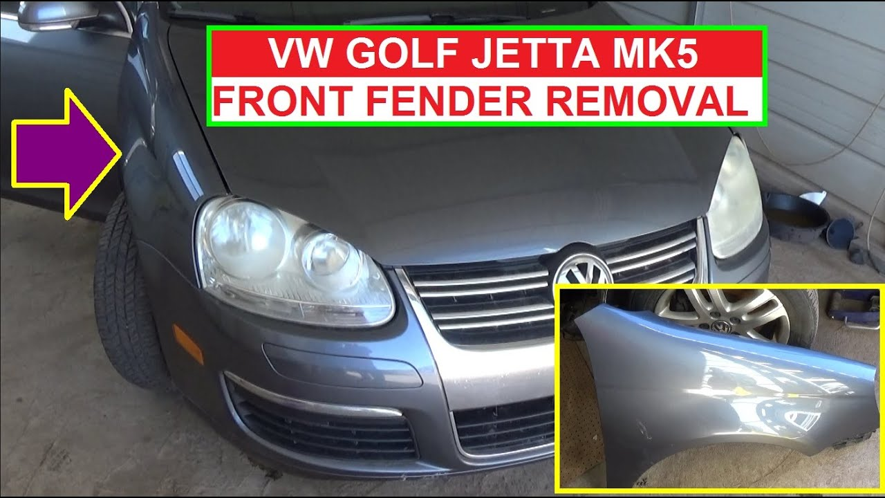 vw jetta mk5 a5 vw golf mk5 left fender replacement right fender replacement [ 1280 x 720 Pixel ]