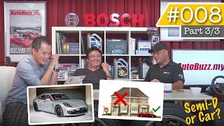Torque Show #008 Pt.3: Would you buy a car over a Semi-D? - AutoBuzz.my Video