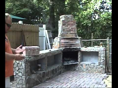Construction of my Outdoor Fireplace w Additional Pics and