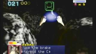 Star Fox 64 - Meteo: Asteroid Field