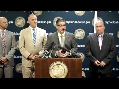 FULL: 10.25.17 - Rep. Bob Cortes, Rene Plasencia, and Others Puerto Rican Aid Press Conference