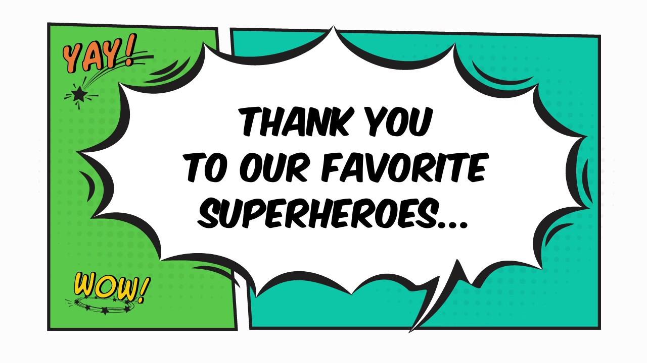 Teacher Appreciation Superhero Shout-out - YouTube