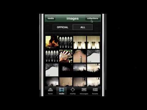 NIN iPhone app walkthrough w/Trent Reznor & Rob Sheridan