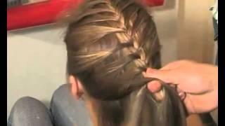 Saçlar nasıl balıksırtı örülür?
