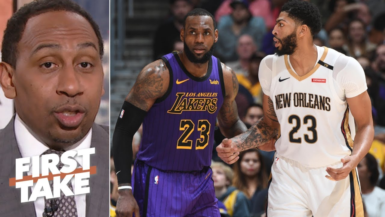 1d98a125a86 Lakers and Knicks will struggle to get Anthony Davis –Stephen A. | First  Take
