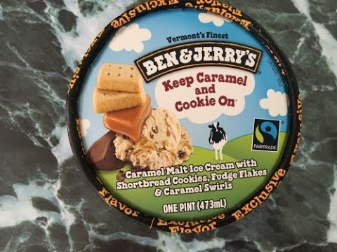Ice Cream Review: Ben and Jerry's Keep Caramel and Cookie On