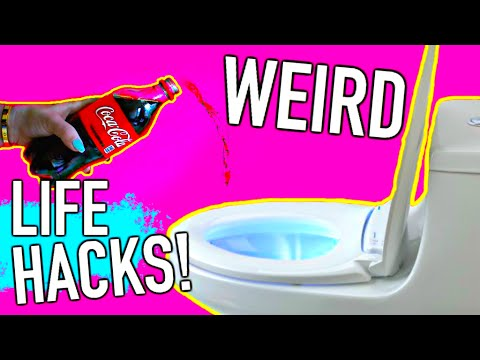 weird life hacks every girl should know youtube. Black Bedroom Furniture Sets. Home Design Ideas
