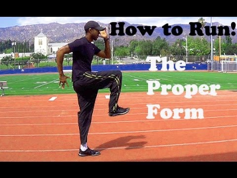 How To Run  Sprint Proper Form  Youtube