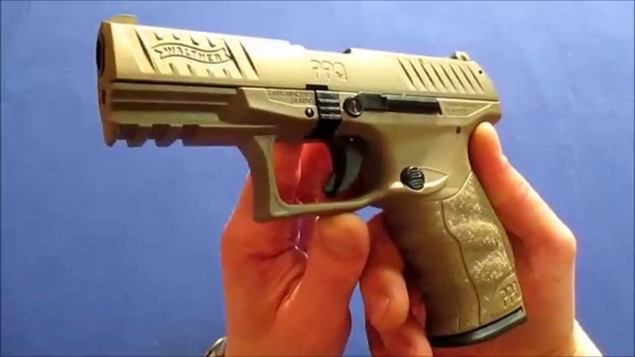 walther ppq m2 fde kaliber 9mm p a k review youtube. Black Bedroom Furniture Sets. Home Design Ideas