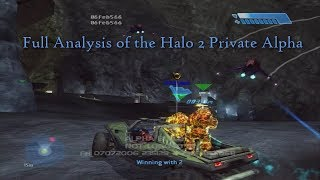 Full Analysis of the Halo 2 Private Alpha