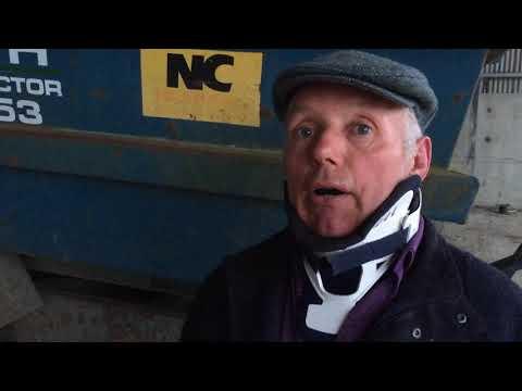 Survivor of dump trailer accident warns of danger
