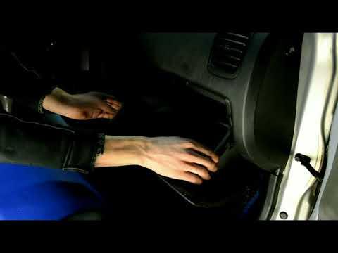 Hyundai Accent 2. Замена салонного фильтра