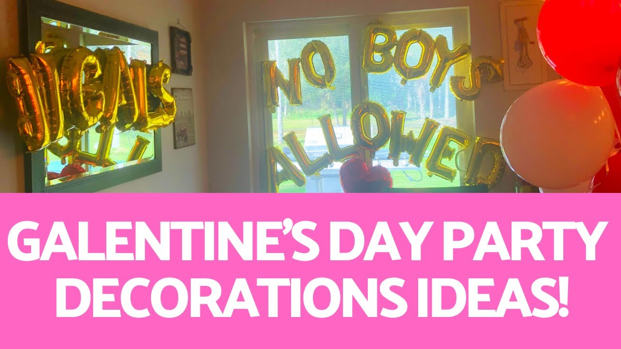 Galentine S Day Party Decorations Ideas Youtube